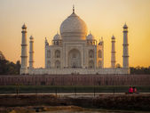 The Taj Mahal in Agra, India — Stock Photo