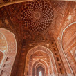 Taj Mahal Mosque Interior — Stock Photo