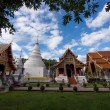 Wat Phra Singh Temples in Chiang Mai, Thailand — Stock Photo