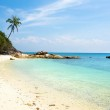 Deserted Beach at Perhentian Island, Malaysia — Foto Stock #51260253