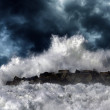 Storm wave — Stock Photo #33348441