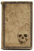 Antigo livro de bruxaria — Foto Stock