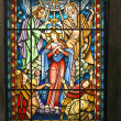 Catholic stained glass window 2 — Stock Photo #33622439