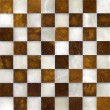 Stock Photo: Marble chessboard