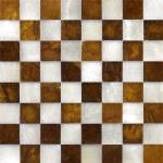 Marble chessboard — Stock Photo