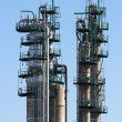 Part of oil refinery — Stock Photo #33960579