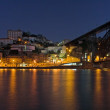 Porto by night — Stock Photo