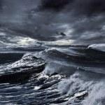 Storm at sea — Stock Photo