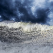 Big stormy wave — Stock Photo #34461675