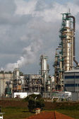 Chemical plant — Stockfoto