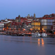 View of old Oporto — Stock Photo