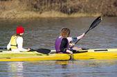 Rowing — Stock fotografie
