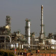 Oil refinery — Stockfoto