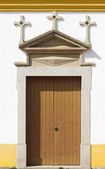 Old church door — Stockfoto