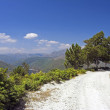 High mountain road — Stock Photo