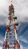 Communications towers — Stock Photo