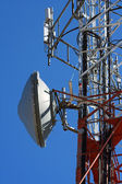 Tower of communication with antennas — Foto de Stock