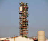 Wieża w budowie — Zdjęcie stockowe
