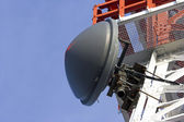 Tower of communication with antenna — Stock Photo