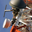 Tower of communication with antennas — Lizenzfreies Foto