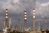 Rafinerii ropy naftowej — Zdjęcie stockowe