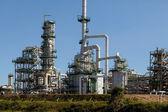 Neue öl-raffinerie — Stockfoto