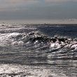 Stock Photo: Sparking waves