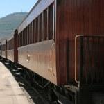 Old stem train — Stock Photo