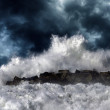 Storm wave — Stock Photo #36265421