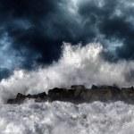Постер, плакат: Storm wave