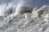Top of the big wave — Stock Photo