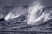 Big atlantic wave — Stock Photo