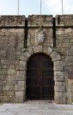 Old fort door — Stock Photo