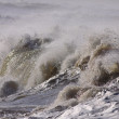 Detailed big wave — Stock Photo