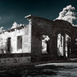 Infrared ruin — Stock Photo