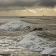 Stock Photo: Moody seascape