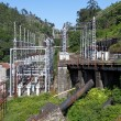 Old hydroelectric facilities — Stock Photo