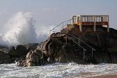 Balcón al mar — Foto de Stock