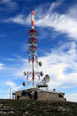 Communications center — Stock Photo
