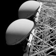Tower of communication with antennas — Stock Photo #36828331