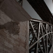 Stock Photo: Iron old bridge