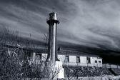 Metal lighthouse — Stock Photo