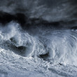 Big Atantic wave — Stock Photo #38732733