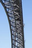 Iron bridge arch — Foto de Stock