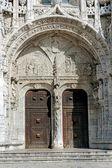 Detalhes arquitetônicos do mosteiro dos jerónimos — Fotografia Stock