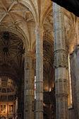 Jeronimos Monastery interior — Stock Photo