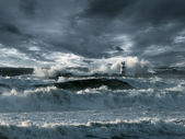 Atlantic storm — Stock Photo