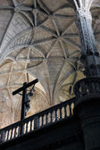 Jeronimos Monastery interior — Stock Photo