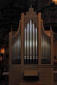 Jeronimos monastery organ — Stock Photo