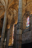 Jeronimos interior — Stock Photo